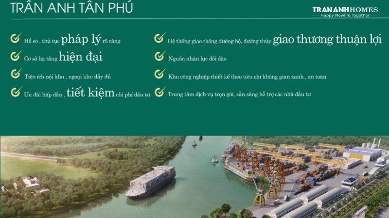 Tiện ích KCN Trần Anh Tân Phú