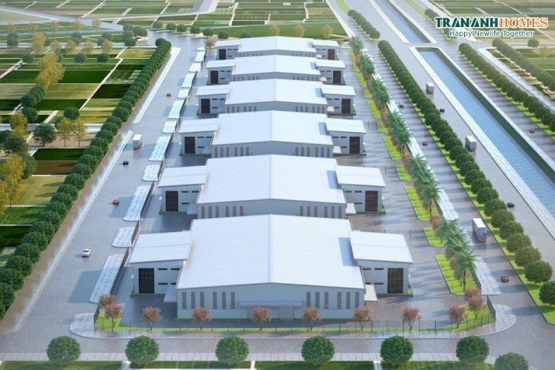 nhà máy KCN Trần Anh Tân Phú