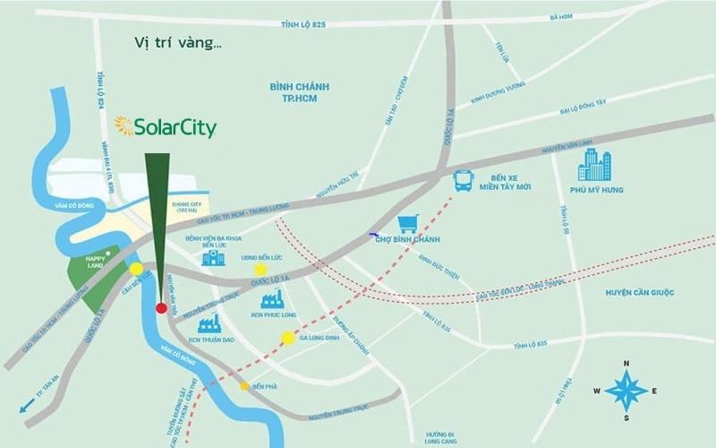 Vị trí Solar City