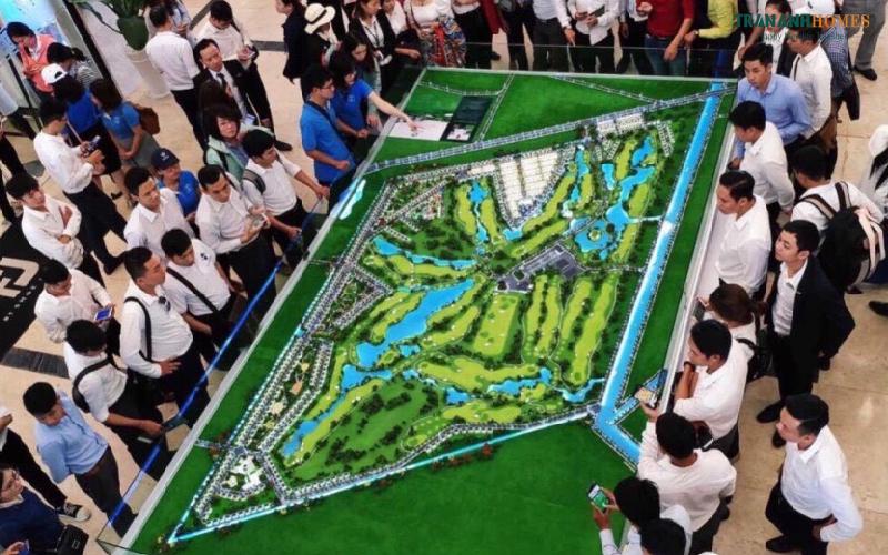 Dự án biệt thự sân Golf