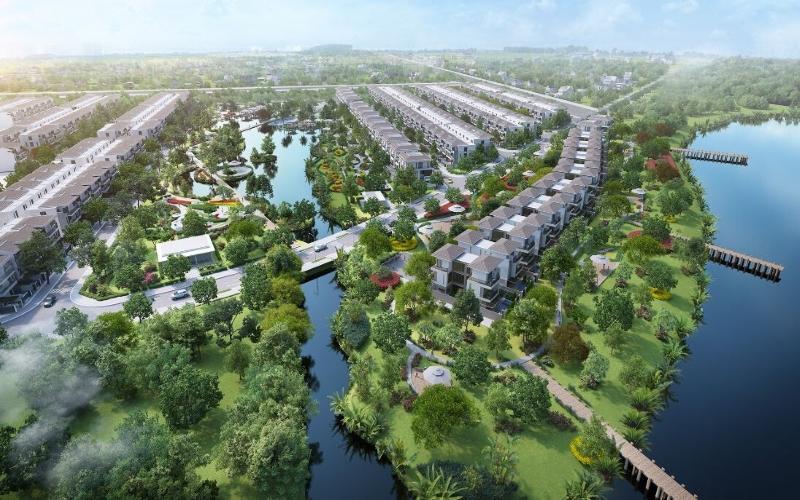 Công viên dự án laviila Green City